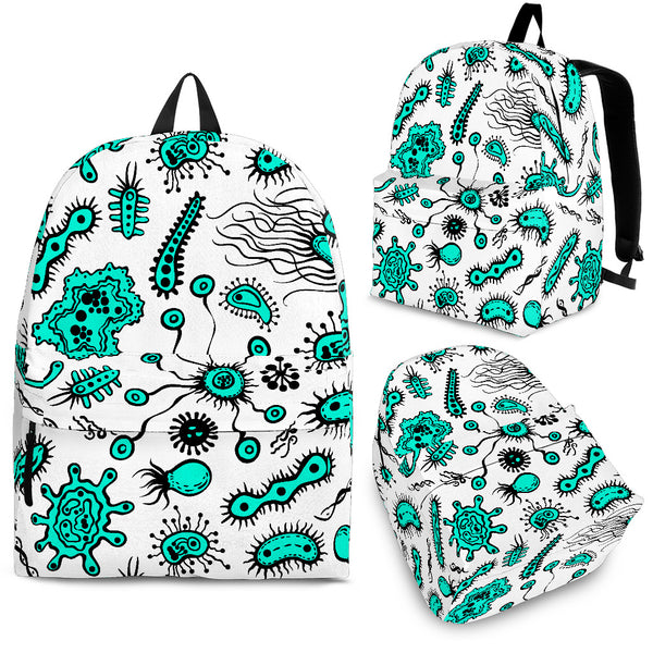 Backpack School backpack College Backpack Doctor Backpack Biology cell backpack