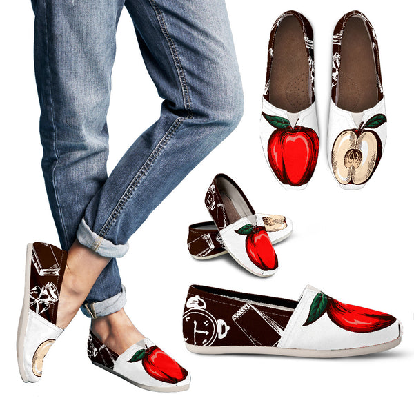Teacher to the Core - Apple Teacher Shoes