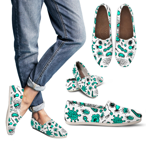 Biology Shoes Blue Cell Shoes Medicine Shoes Casual Shoes