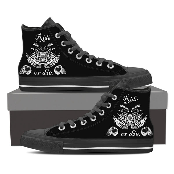 Ride or Die High Tops - Men's