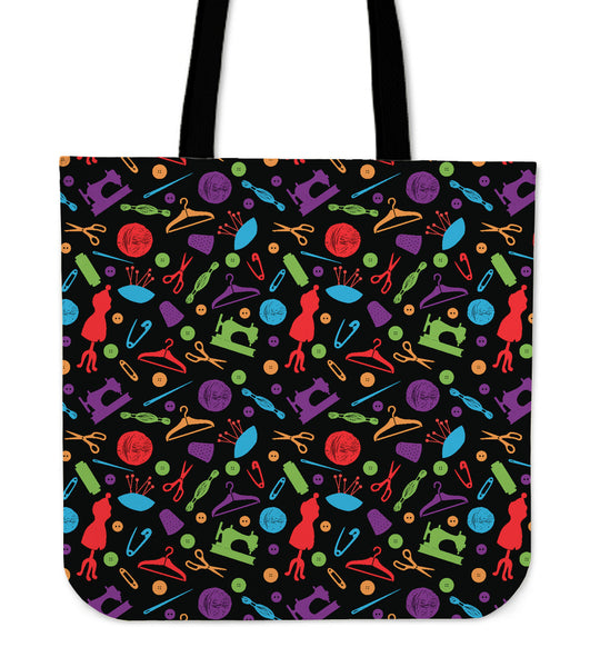 Printed Design Tote Bag Multi Tools Tote Bag Pattern Design Tote Bag