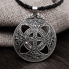 Celtic Protection Shield Pendant Necklace