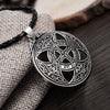 Image of Celtic Protection Shield Pendant Necklace