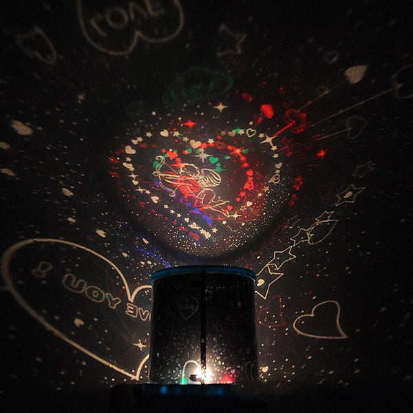 The Galactic Universe USB Light Projector Lamp