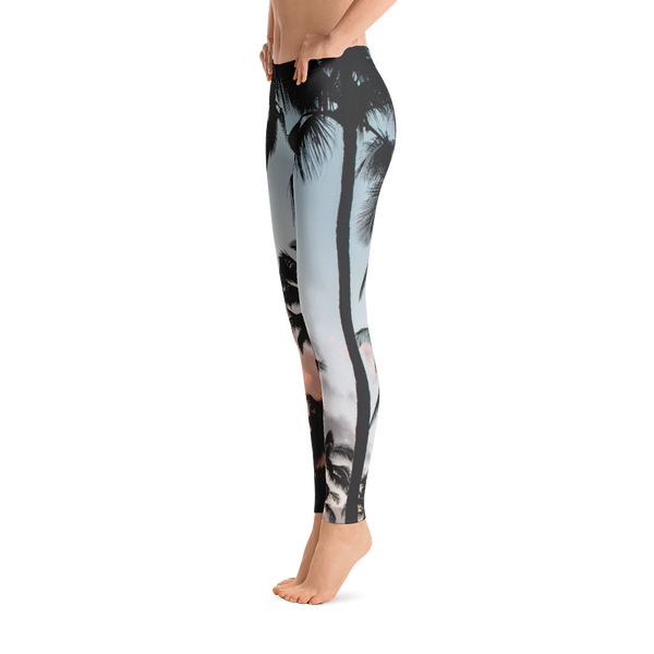 Miami Sunsets Yoga Leggings