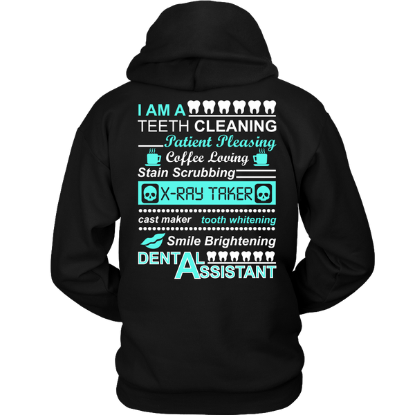 Dental Assistant Unisex Statement Hoodie