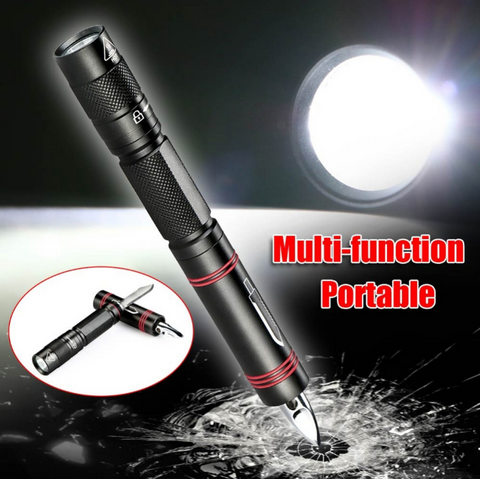 MINI TACTICAL SELF DEFENSE MULTIFUNCTION LED FLASHLIGHT PEN