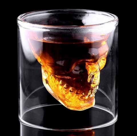 Creative Designer Skull Glasses