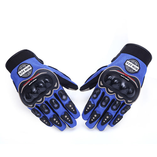 Breathable Touch Screen Protective Motorcycle / Motocross Gloves