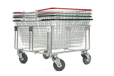 Stacker for 25 Litre Shopping Baskets (fixed or mobile)
