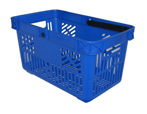 28 litre plastic shopping baskets - OFFER - box of 10