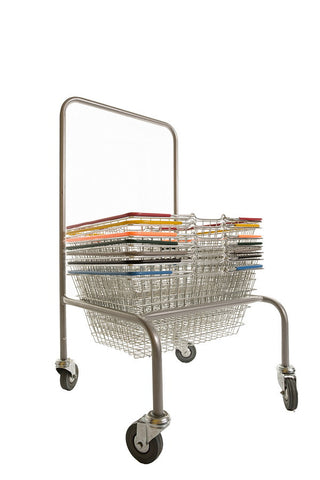 High-Back Stacker for 19 Litre & 22 Litre Shopping Baskets