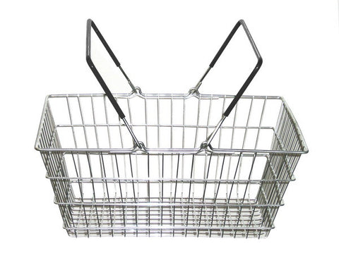 19-21 litre wire shopping baskets