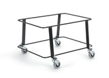 30/35L trolley basket stacker in Black