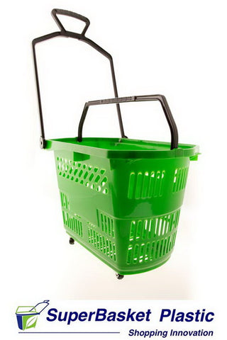 30/35L GREEN trolley basket  *Best seller* (as seen in ASDA)