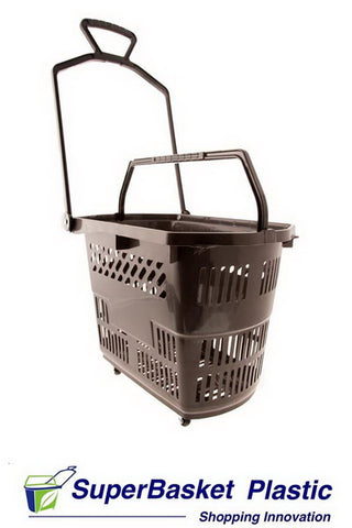 30/35L GREY trolley basket  (as seen in Wilko)