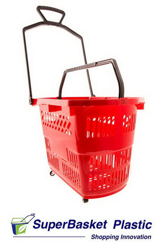 30/35L RED trolley basket  (as seen in Spar)