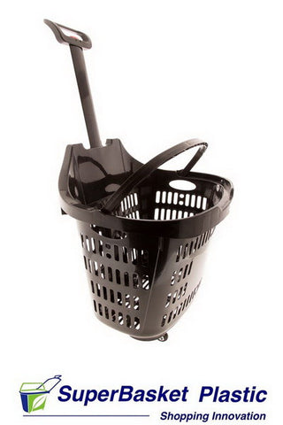 45/50L BLACK trolley basket - The M45 (as seen in M&S)
