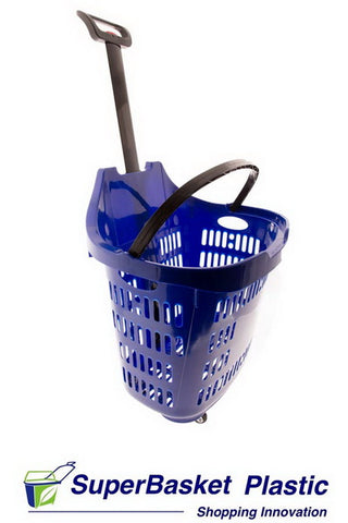 45/50L BLUE trolley basket - The M45 (as seen in B&M)