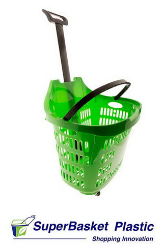 45/50L GREEN trolley basket - The M45 (as seen in ASDA)