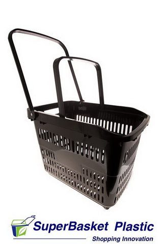 80/90L XXL BLACK trolley basket - The M80
