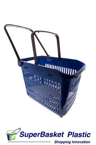 (Box of 10) 80/90L XXL RED trolley basket - The M80
