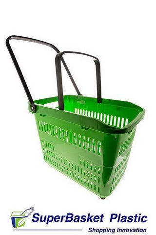 80/90L XXL GREEN trolley basket - The M80