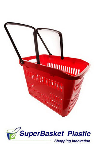 80/90L XXL RED trolley basket - The M80
