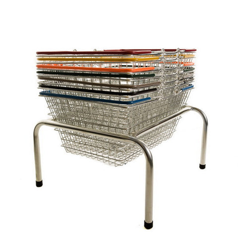 Stacker for 19 Litre & 22 Litre Shopping Baskets (plinth/wheeled)