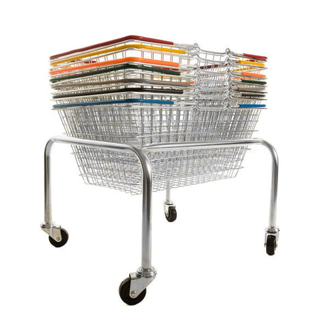 Stacker for 19 litre & 22 litre baskets - mobile