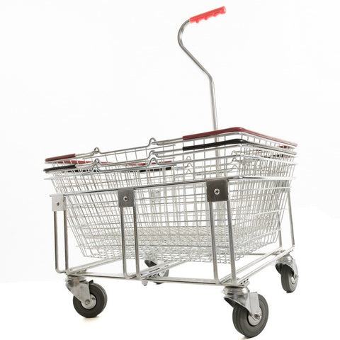 Long-Handled Stacker for 25 Litre Shopping Baskets