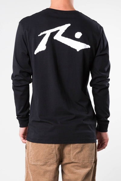RUSTY COMPETITION LONG SLEEVE TEE - BLACK