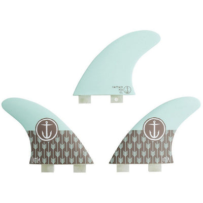 LEILA HURST - THRUSTER FIN SET - CAPTAIN FIN