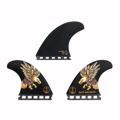 MATT ARCHBOLD - SPEED (LARGE) SHORTBOARD THRUSTER FIN SET