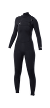PREMIUM WOMENS 3/2 CHEST-ZIP STEAMER WETSUIT