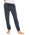 ROXY DAY BREAKS  TERRY TRACK PANTS - MOOD INDIGO