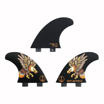 MATT ARCHBOLD - SPEED (MEDIUM) SHORTBOARD THRUSTER FIN SET