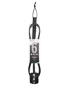FCS REGULAR CLASSIC LEASH 6FT - BLACK