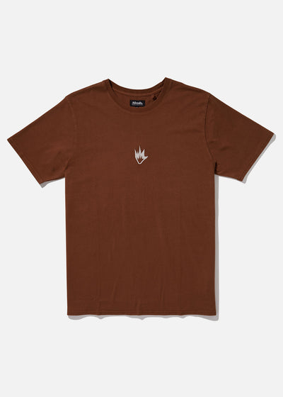 AFENDS FLAME III STANDARD FIT MENS TEE/ FLAME LOGO RETRO FIT TEE