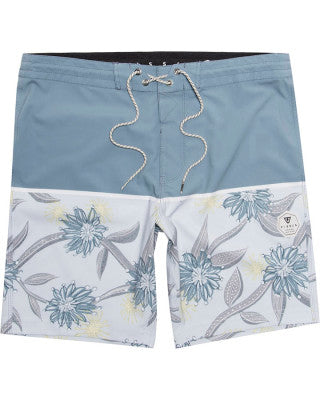 "VISSLA FIREWHEEL 18.5""BOARDSHORT - LIGHT SLATE"