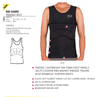 OCEAN & EARTH RIB GUARD PADDED VEST - SINGLET