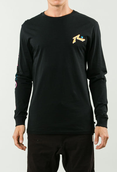 RUSTY WATERPROOF MENS LONG SLEEVE TEE