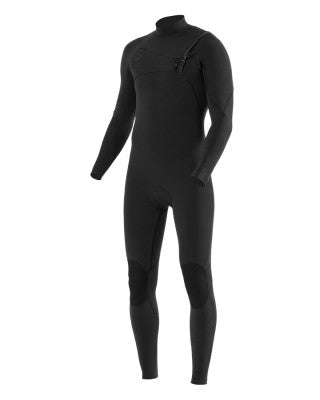 7 SEAS 3-2 FULL CHEST ZIP WETSUIT -STEALTH : MW32Q7FC