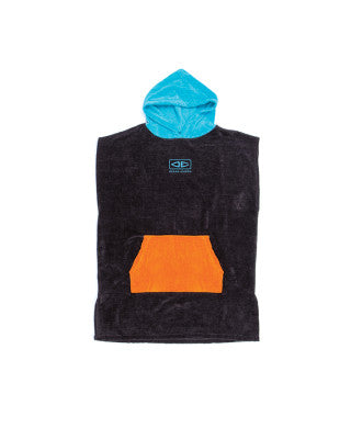 OCEAN & EARTH YOUTH HOODED PONCHOS - MIXED COLOURS
