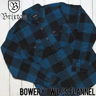 BRIXTON BOWERY L/S FLANNEL SHIRT
