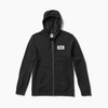 REEF CLUB HOODIE - BLACK - ZIP