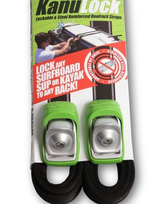 Kanulock Lockable Tiedown strap Sets