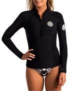 G-BOMB 1MM WOMENS LONG-SLEEVE FRONT ZIP WETSUIT JACKET