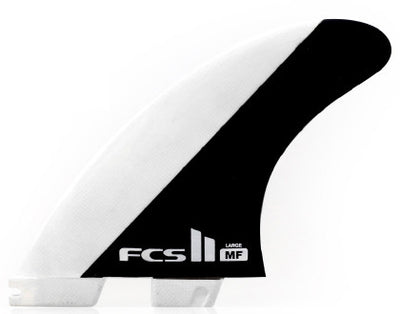FCS II MF - MICK FANNING PC GLASS FIN SET - THRUSTER