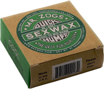 SURFWAX SEXWAX GREEN COLD WATER